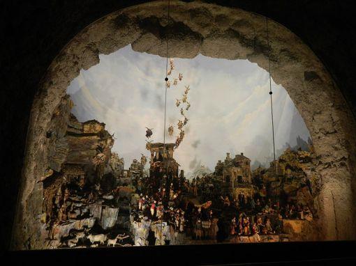 Presepe Cuciniello Certosa di San Martino Napoli Natale in Casa Cupiello tè Piace u'Presepe httpswww.youtube.comwatchv=E406L1bdWBw