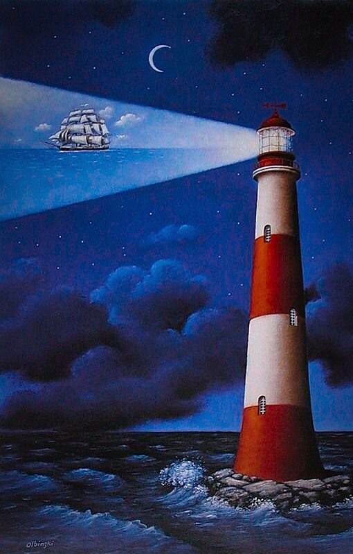 rafal olbinski polish painter a guiding light